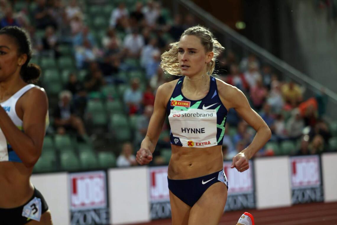 Det er absolutt framgang å spore hos Hedda Hynne, men hun er ikke helt i OL-form enda. Den håper hun imidlertid å finne de nærmeste ukene. (Foto: Samuel Hafsahl)