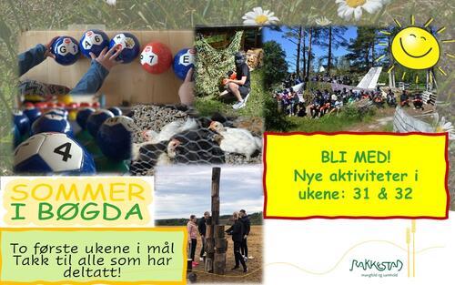 To første uker i boks - Sommer i Bøgda - Rakkestad kommune