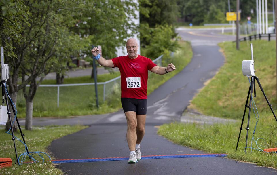Endre Vindheim i mål på 50 km på 6.37.59.