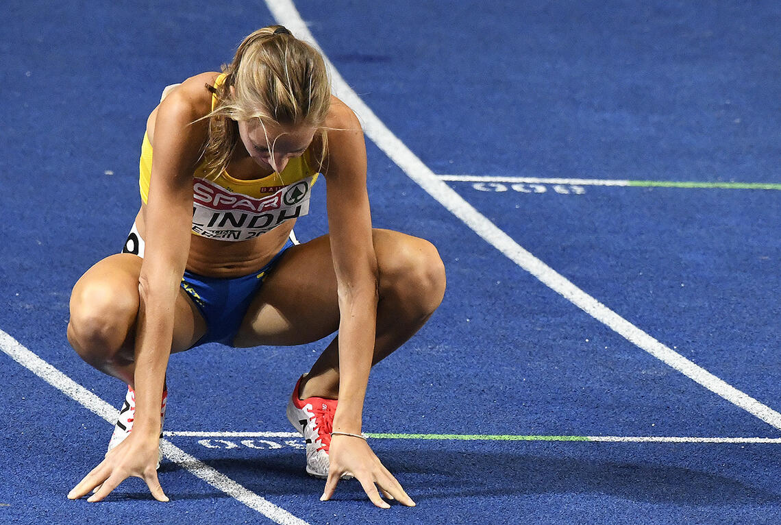 Lovisa Lindh får mye sympati etter at svenske idrettsledere har funnet ut at en utøver som var kvalifisert til OL, ikke skal få lov til å reise. (Foto: Bjørn Johannessen)