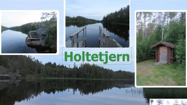 Holtetjern  i Degernes - Rakkestad kommune