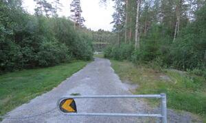 Holtetjern Degernes- til badeplassen -  Rakkestad kommune