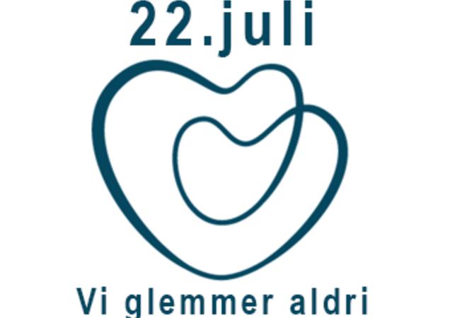 Logo til markering av 22.juli