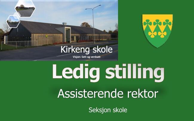 Ledig stilling - assisterende rektor ved Kirkeng skole - Rakkestad kommune