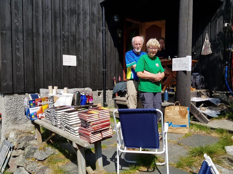 Berit Eskerud og Jon Vegard Lunde