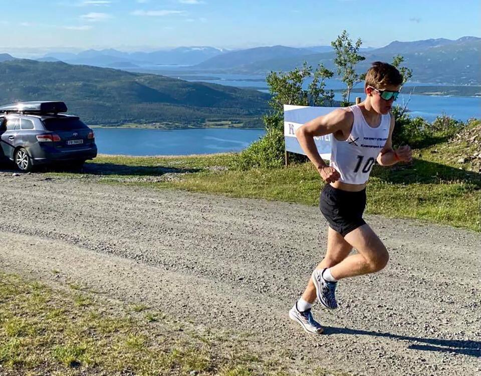 Jardar Olsen fra Alta IF var raskest gjennom løypa i år. (Foto: Arrangøren)