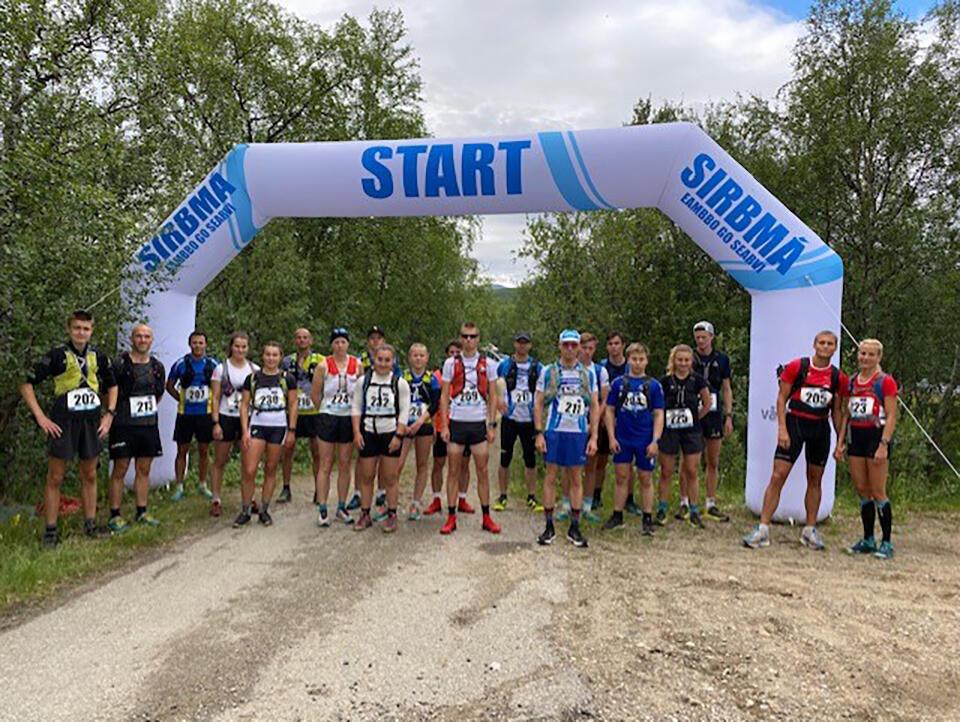 Like før start i årets løp. (Foto: Arrangør)