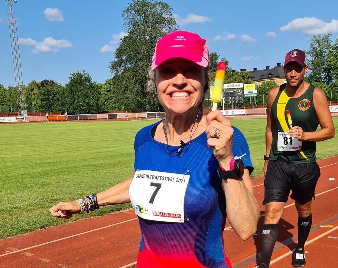 Therese Falk elsker 24-timersløp - og is! (Foto: Daniel Westergren)