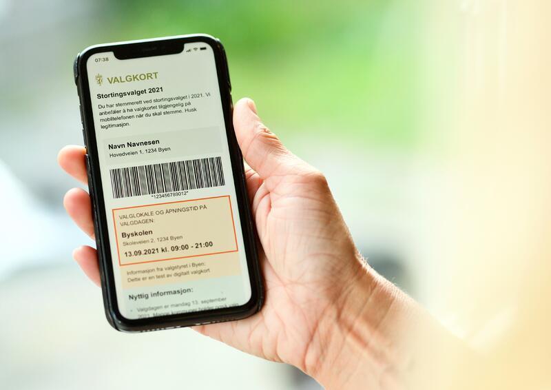 digitale valgkort