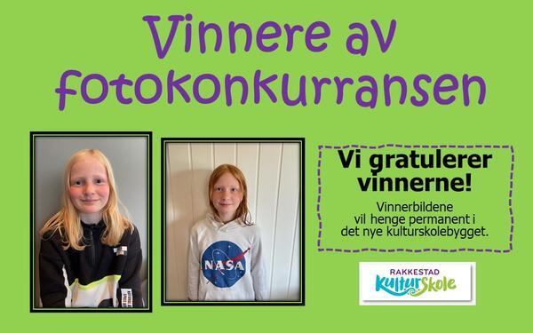 Vi gratulerer vinnerne av fotokonkurransen til vårt nye kulturskolebygg - Rakkestad kommune