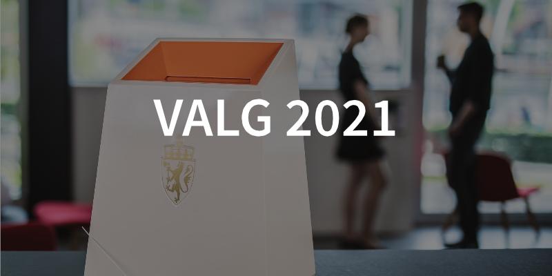 Valg 2021 illustrasjonsbilde