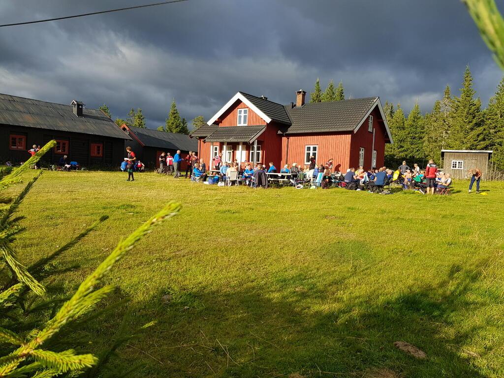 Trivelig samlingsplass ved St Olav.