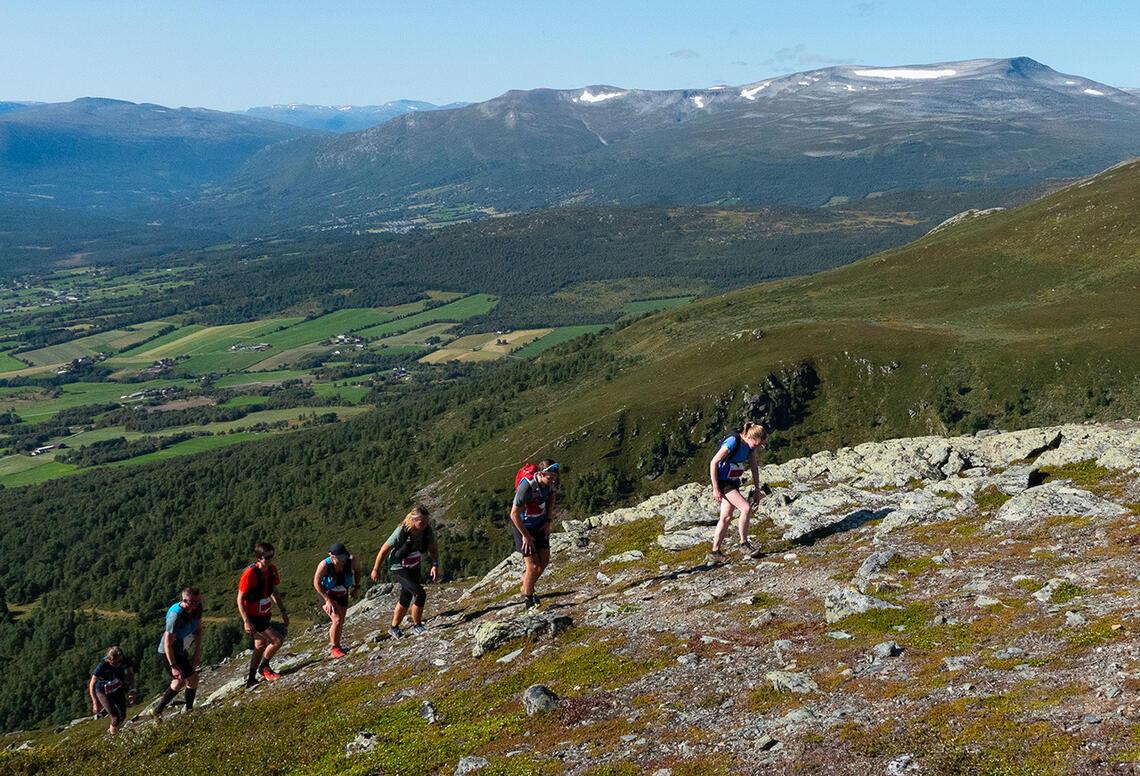 754 deltakere løp Oppdal Fjellmaraton. (Foto: Ola Hoseth Kosberg)
