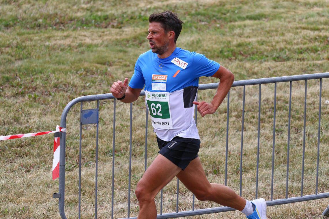 Nils Ingar Aadne løp en god 10-kilometer i den 43. utgaven av Kodalmila i helgen. (Foto: Torstein Flåm)