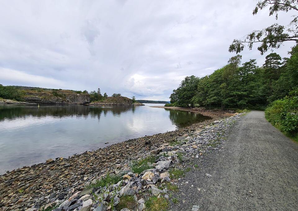 Oslofjorden Rundt-traseen byr på mange idylliske parti. (Foto: arrangøren)