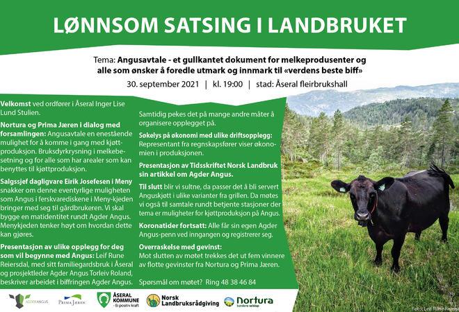 Lønnsom satsing i landbruket 2021