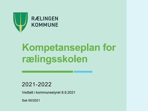 Kompetanseplan for rælingsskolen 2021-2022 bilde