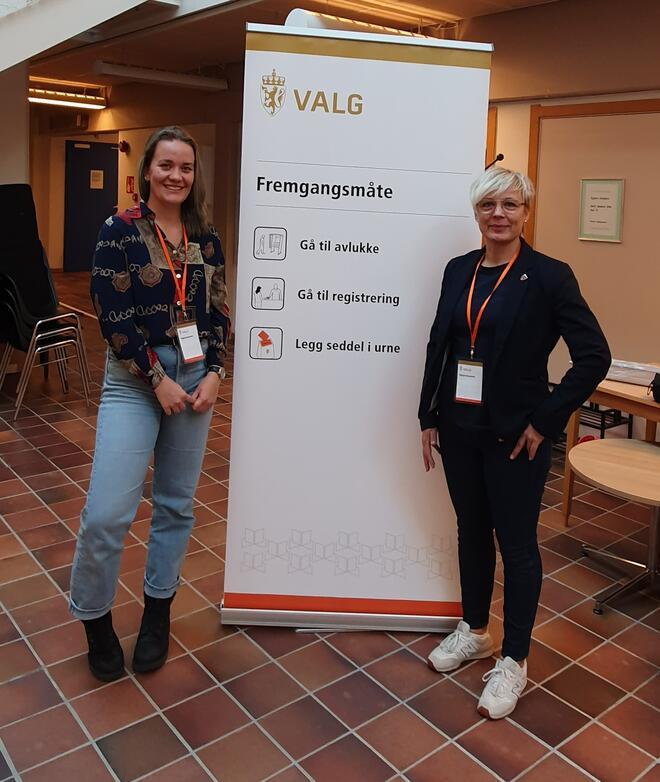 Valgfunksjonærene i Porsanger kommune er godt fornøyde med årets forhåndsstemming