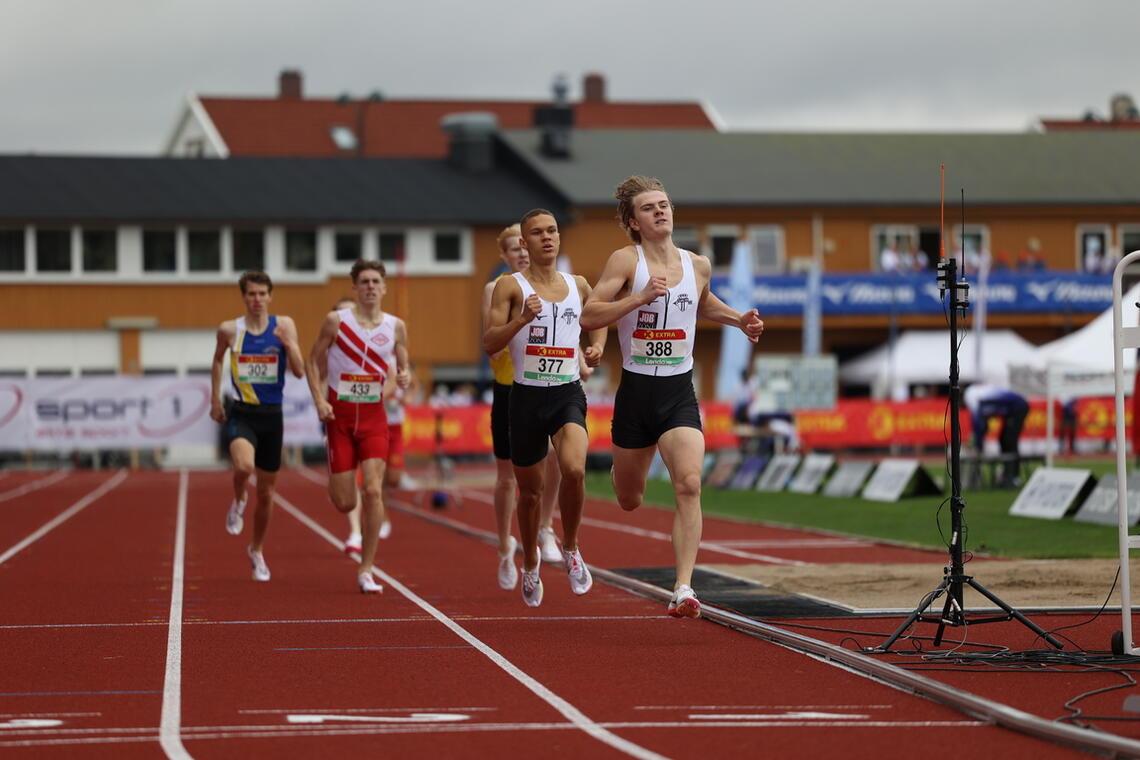 Tobias Grønstad og Luca Thompson sikret Tjalve to finalebilletter i det første av de tre forsøksheatene. (Foto: Samuel Hafsahl)