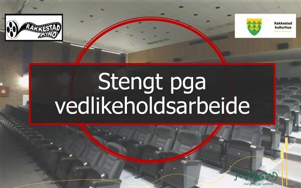 Vedlikeholdsarbeide - Rakkestad kino - Rakkestad kulturhus - kinosalen