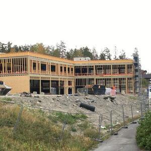 Ravinen bygges her september 2021