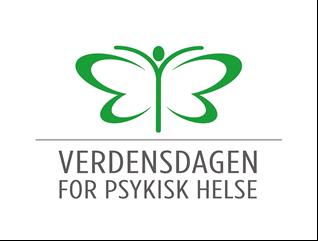 Verdensdagen for psykisk helse - logo