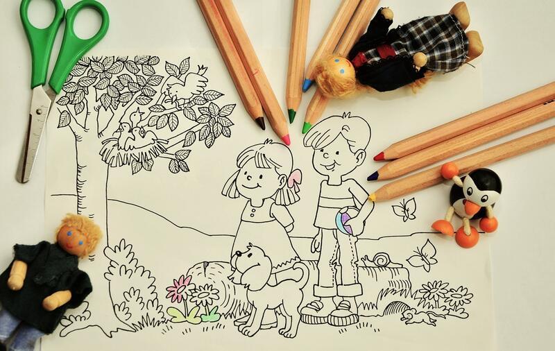 barnehage illustrasjon