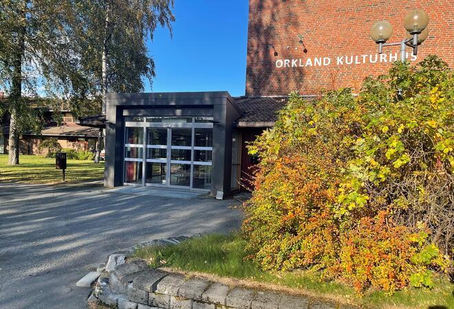 Vaksinasjonen denne uka vil foregå på Orkland rådhus.