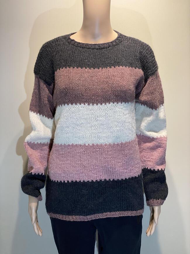 Trefarget genser