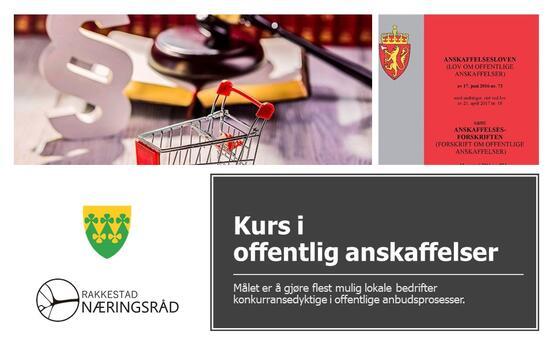 Kurs i offentlig ansaffelser - samarbeid Rakkestad Næringsråd og Rakkestad kommune