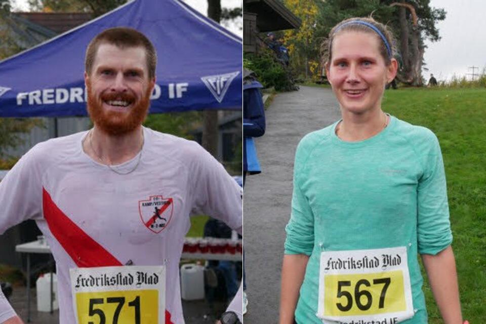 Fredrikstadmarka Rundt 2021 ble vunnet av Magnus Erstad i herreklassen og Lisa Lee i kvinneklassen. (Foto: Rolf B. Gundersen)