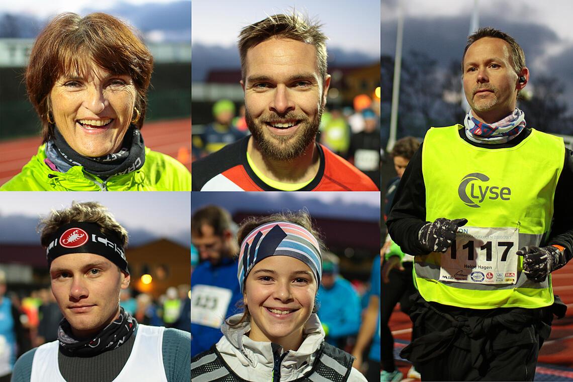 Dette er noen tilfeldige løpere som deltok på det utsatte løpet i Necon Vinterkarusell den 11. oktober. (Alle foto: Arne Dag Myking)