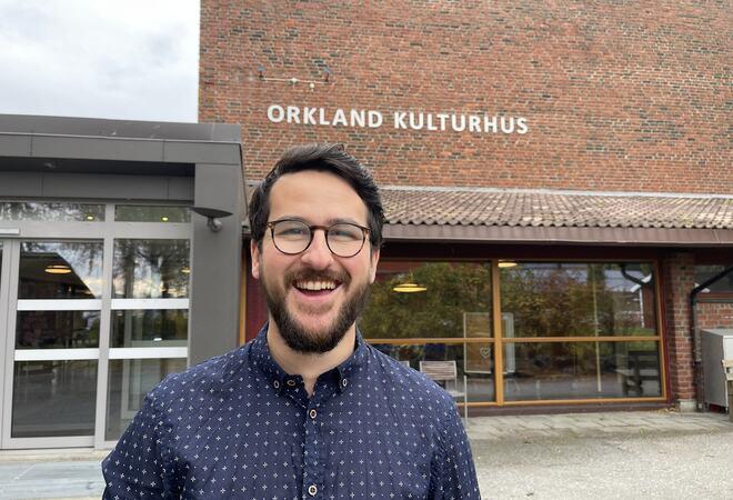 Dario Leko leder arbeidet med oppgradering av kulturhuset.